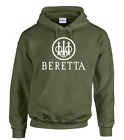 BERETTA LOGO HOODED TOP/HOODIE PULLOVER TYPE  Shotgun/Firearm/Hunting/Shooting