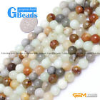 "Round Faceted Mixed Hua Show Jade DIY Jewelry Making Loose Beads15"" 8mm 14mm"