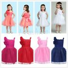 Baby Girls Dress Party Tulle Princess Party Christening Formal Dress Newborn-24M