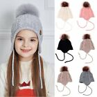 Внешний вид - Cute Toddler Kids Girl&Boy Baby Infant Winter Warm Crochet Knit Hat Beanie Cap