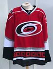Reebok Edge Carolina Hurricanes Pro Stock Official Game Jersey RED NEW $84.0 USD on eBay
