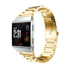 For Fitbit Ionic Multi-color Stainless Steel Replacement 3 Bead Watchband