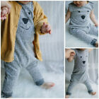 1PC Fashion Infant Baby Cotton Roper Short Sleeve Cartoon Jumpsuits Clothes