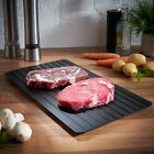 Fast Physics Defrosting Tray 9 Times The Natural to Unfreeze Food Meat Safety