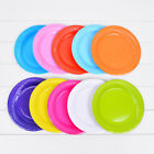 ROUND Paper Party Plates 18X18cm Plain Solid Tableware Events Catering DIY