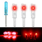 3x Automatically LED Lighted Arrow Nocks Tail for Crossbow Arrows Fittings 7.6mm