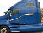 American Flag Stripes Vinyl Graphic Decals for Semi Trailers trucks and boats