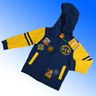 Boys Official JCB Joey Zip Hoodie Sweat Fleece Top Age 18 Months - 2 & 5-6 Years