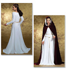 Butterick Costume/Misses Sewing Pattern 4377 Medieval Dress & Cape