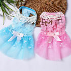 Small Dog Princess Dress Spring Summer Pet Puppy Clothes Skirt for teddy
