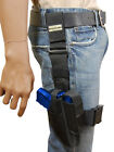 New Barsony Tactical Leg Holster w/ Mag Pouch HK FN Kahr Compact 9mm 40 45