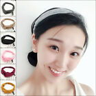 1pc Knitting Cross Headbands Silk Knot Turban Women Headband Hair Accessory