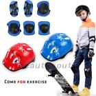 7Pcs Childrens Kids Skate Cycling Bike Safety Helmet Knee Elbow Pad Set Useful