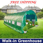 Walk-in polytunnel Greenhouse 2x5  3x4.5 and 3x6 FREE SHIPPING TO METRO AREAS