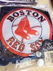 NFL OFFICIAL BOSTON RED SOX LOGO VALANCE JERSEY MESH