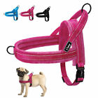 No Pull Small Large Dog Harness Reflective Front Leading Plush Padded Pet Vest