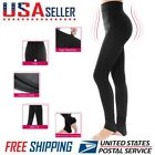 Women Winter Thick Warm Fleece Lined Thermal Stretchy High-waisted Leggings Pant