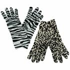 Ladies Rjm Accessories Animal Print Gloves Style - GL252