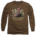 Star Trek THERE'S A TRIBBLE IN MY COFFEE Adult Long Sleeve T-Shirt S-3XL on eBay