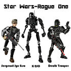 Star Wars Rogue One Darth Vader K-2SO Death Trooper Figure Building Blocks New $23.0 AUD