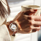 Fashion Womens Faux Leather Dial Quartz Wrist Watch Ladies Casual Dress Watches