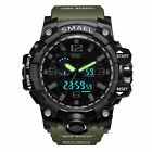 SMAEL Men's Digital Military Sport Quartz Alarm Date 50M Waterproof Wrist Watch