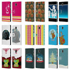 MIX CHRISTMAS COLLECTION LEATHER BOOK CASE FOR SAMSUNG GALAXY J7 2017 / PRO