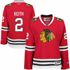 Reebok Duncan Keith Chicago Blackhawks Womens Red Premier Player Jersey NHL