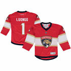 Reebok Roberto Luongo Florida Panthers Youth Red Replica NHL Player Jersey