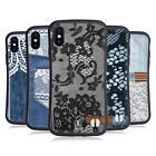 HEAD CASE DESIGNS JEANS AND LACES HYBRID CASE FOR APPLE iPHONE X