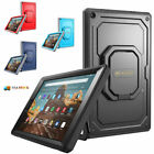 Amazon Fire 7 / HD 8 / 10 2017 ShockProof Tuatara Case 360 Rotating Carry Cover