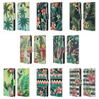 HEAD CASE DESIGNS TROPICAL PRINTS LEATHER BOOK WALLET CASE FOR HUAWEI Y360 / Y3