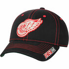 CCM Detroit Red Wings Black Structured Flex Hat NHL