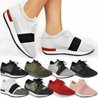 Womens Ladies Running Sport Shoes Trainers Spike Lace Up Fitness Sneaker Size
