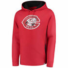 Majestic Cincinnati Reds Red Cooperstown Left/Righty Pullover Hoodie - MLB