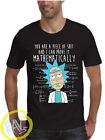 Rick and Morty T-Shirt,Piece of Sh** Spoof,American Anime,Adult and kids Sizes>>
