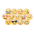 5x Emoji Cartoon Expression Fridge Magnet Decor Whiteboard Note Message HolderJR