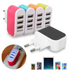 3-Port USB Wall Home Travel AC Power Charger Adapter for Cell Phone