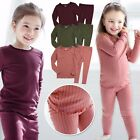 "Vaenait Baby Toddler Kids Girls Pjs Sleepwear Pyjama Set ""Shirring"" 12M-7T"