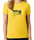 Emoji Attitude Loading Ladies T-shirt Humorous Novelty Women