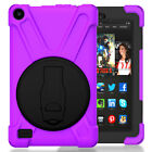 Rotating Stand Shockproof Case Cover For Amazon Kindle Fire HD 8 6th Gen 2016