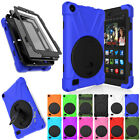 Rotating Stand Shockproof Case Cover For Amazon Kindle Fire
