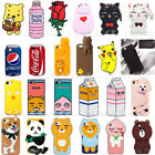 2019 Cute 3D Cartoon Soft Silicone Phone Case Cover For iPhone X 8 7 6 5 Plus $6.52  on eBay