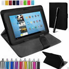 "Amazon Kindle Fire 7 Alexa 7""inch Flip Tab Stand Universal Leather Cover Case"