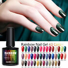 Modelones 10ML Rainbow Glitter Neon Nail Gel Polish Soak Off