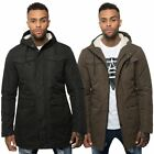 Loyalty & Faith Mens Zip Up Padded Hood Jacket Cagoule Toggle Popper Winter Coat