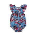 Star Wars Infant Toddler Baby Girl Clothes Floral Romper Bodysuit Cotton Outfits $4.65 USD