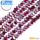 """Natural Assort Shape Red Garnet Loose Stone Stone Beads For Jewelry Making 15"""""""