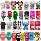 3D Cartoon Soft Silicone Back Case Cover For Samsung Galaxy J3 J5 J7 S8 S8+ Plus