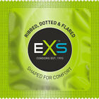 EXS Ribbed & Dotted Condoms - Select Your Pack Size - Fast Free UK Post